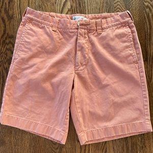 J Crew Men's Faded Rust Shorts